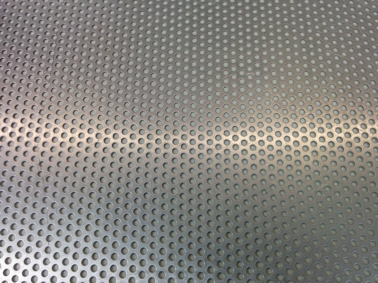 lochblech streifen aus aluminium 1 00 mm der spengler. Black Bedroom Furniture Sets. Home Design Ideas