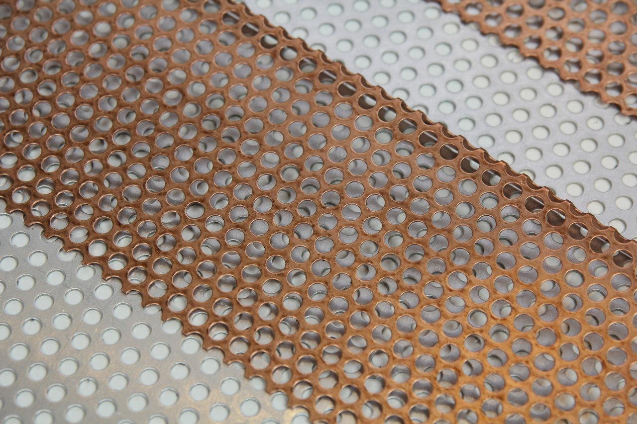 kupferlochblech metallteile verbinden. Black Bedroom Furniture Sets. Home Design Ideas
