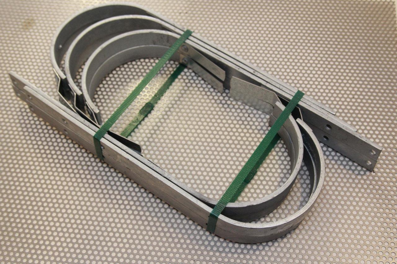 Nägel für Rinnenhalter verzinkt  100 mm lang.